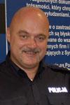 mł. insp. Bogdan Krzyszczak, Naczelnik Wydziału Wywiadowczo-Patrolowego Komendy Stołecznej Policji